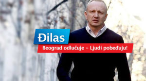 Dragan Đilas izborni slogan u Beogradu