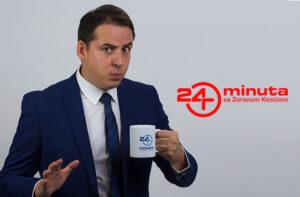"""Voditelj emisije """"24 minuta"""" Zoran Kesić"""