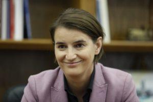 Ana Brnabić premijerka Srbije