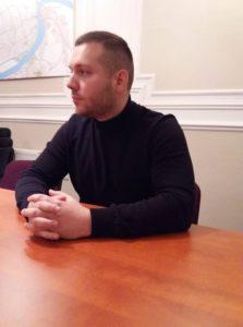 Filip Martin je član Izvršnog odbora Levice Srbije Novi Sad